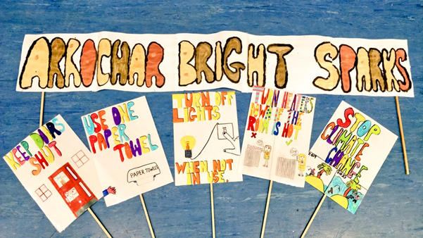 Arrochar Bright Sparks banners