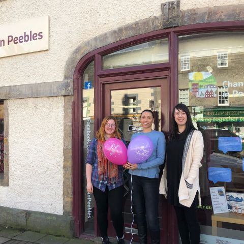 Change Works in Peebles turns one!