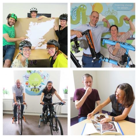 500 mile cycle challenge and baking competition MND fundraiser