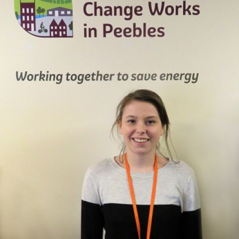 Home Energy Scotland Advisor Maddy Grant